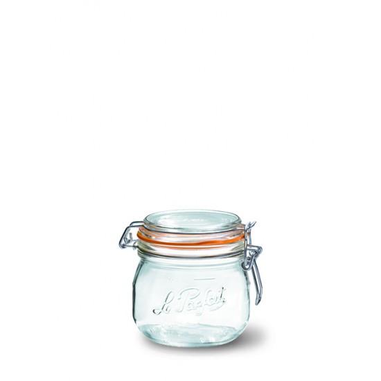 6 x 500ml Le Parfait SUPER jar with seal (LPSJ05006)