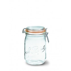 6 x 1000ml Le Parfait SUPER jar with seal