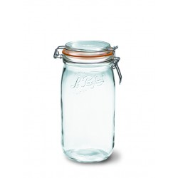 6 x 1500ml Le Parfait SUPER jar with seal