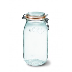 6 x 2000ml Le Parfait SUPER jar with seal