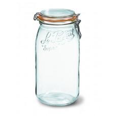 3 x 3000ml Le Parfait SUPER jar with seal