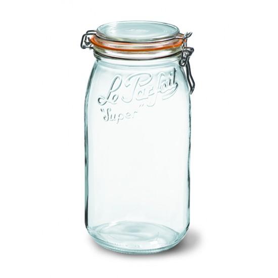 3000ml Le Parfait SUPER jar with seal