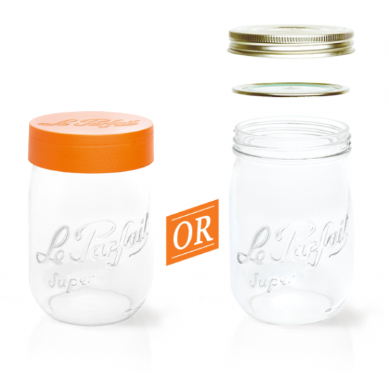 3000ml Le Parfait Storage Jar with Screwtop Lid