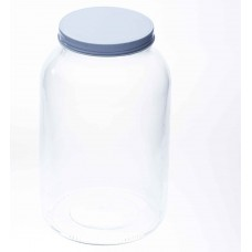 1 x 128oz Gallon Smooth Unembossed Jar Bell Mason - Lid not included