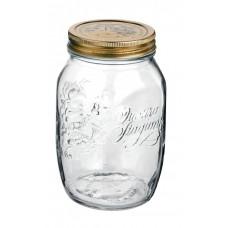 1 x 500ml Bormioli Rocco Quattro Stagioni Preserving Jar.