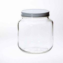 1 x Bell Mason 64 oz / Half Gallon Smooth Unembossed Jar (Lid not included)