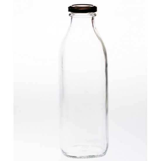 10 x 750ml Multi Serve Milk, Juice, Glass Sauce Bottles