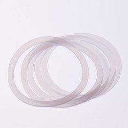 10 x Food Safe Seals Reusable High Heat Silicone - Regular