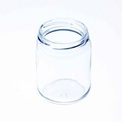 105 x 240ml Round Jars with Lids