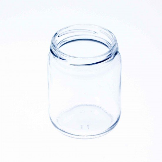 105 x 240ml Round Jars - Lids not included (240ml ROUND JARS)