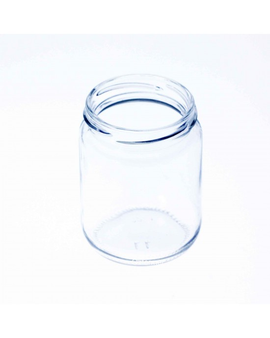 105 x 240ml Round Jars - Lids not included (240ml ROUND JARS)
