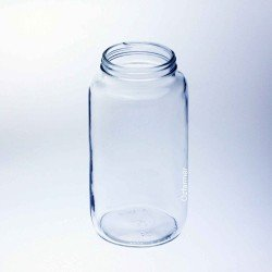 12 x Bell 32 oz Quart Smooth Hi Shoulder Regular Mouth Jars - Lids Not Included