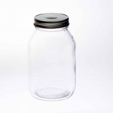 12 x Bell Mason 32 oz Quart Smooth Regular Mouth Jars - Lids Not Included