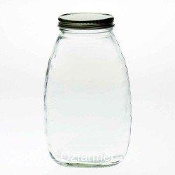 12 x Bell Mason 650ml 22oz 2lb 900g Queenline Honey Jars - Lids Not Included