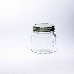 12 x Bell Mason Jars Square Half Pint 8oz Jars - Lids Not Included