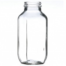 40 x Bell Mason 480ml / 16 oz Dairy French Square Bottles - lids not included