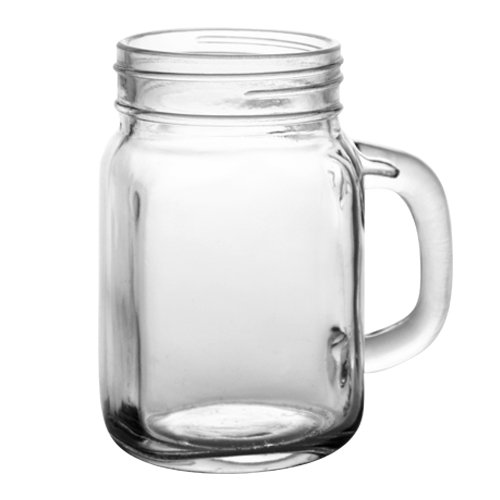 48 x Handle Drinking Ball Mason Jars 12oz LIDS NOT INCLUDED