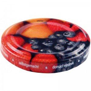 48mm Twist Top Lids with Fruit Pattern EACH