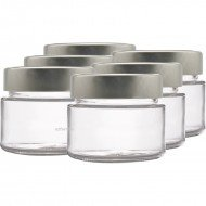 6 x 106ml myRex Glass Preserving Jars