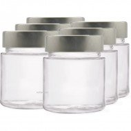 6 x 145ml myRex Glass Preserving Jars