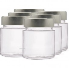 6 x 145ml myRex Glass Preserving Jars