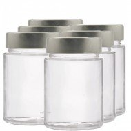 6 x 195ml myRex Glass Preserving Jars