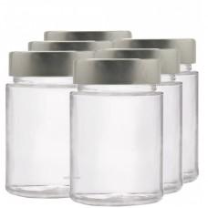 6 x 195ml myRex Glass Preserving Jars (240007)