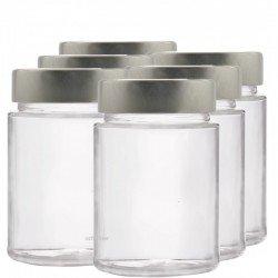 6 x 195ml myRex Glass Preserving Jars