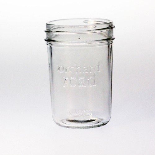 6 x High Quality Half Pint 8oz Jars Orchard Road Suit Jams Jellies Salsas