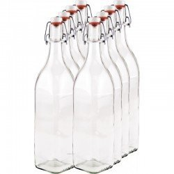 8 x 1,000ml Swing Top Bottle myRex