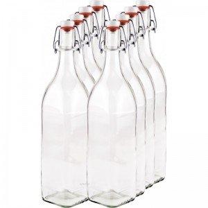 8 x 1,000ml Swing Top Bottle myRex