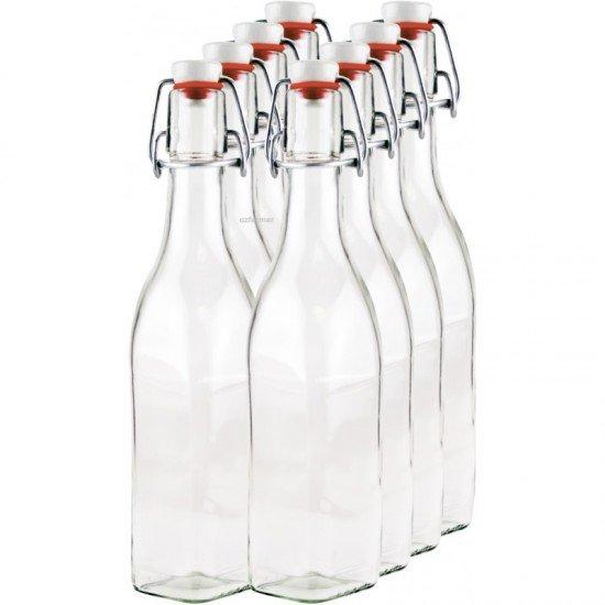8 x 250ml Swing Top Bottle myRex