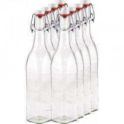 8 x 500ml Swing Top Bottle myRex