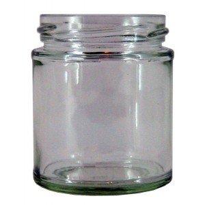 90 x 40ml Round Jam Jars no lids