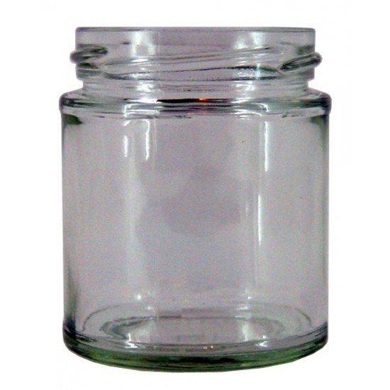 90 x 40ml Round Jam Jars no lids (40ml jars x 90)
