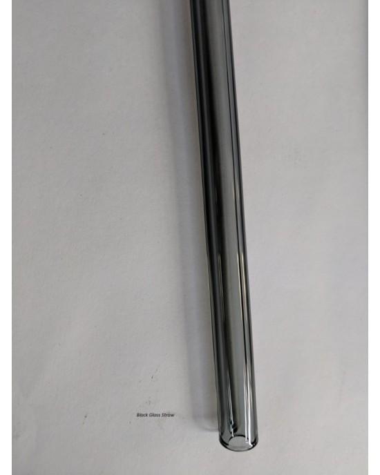 Glass Drinking Straw 9mm Straight (Glass straw straight)