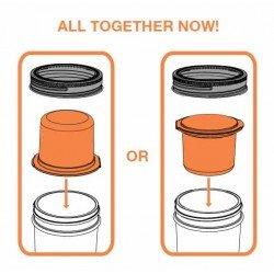 Snack Pack Lunch Jar Insert Suits Ball Mason Regular Mouth Jar