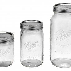 Wide Mouth Single Jars