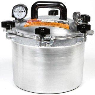 All American 10 Quart (9.5 Litre) Heavy Duty Pressure Canner Pressure Cooker