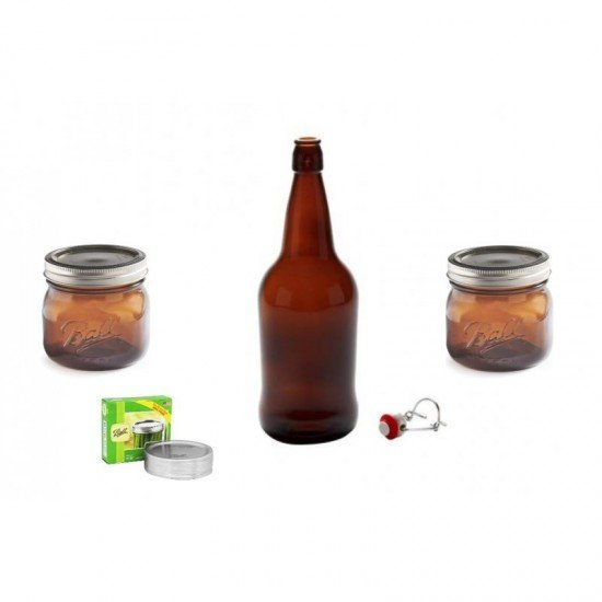 Amber Bottles / Jars Package Deal Free Shipping Australia / New Zealand (Amber Package)