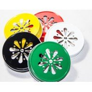 Ball Mason Daisy Drinking Lids Assorted Colours