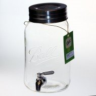 Ball Mason Drink Dispenser Gallon with Stainless Steel Tap