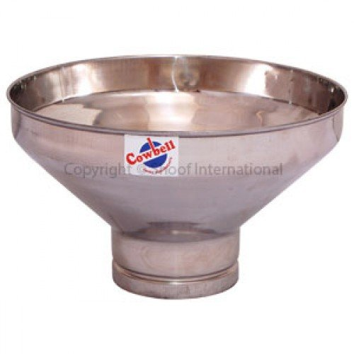 Cow bell Stainless Steel Milk Strainer Funnel