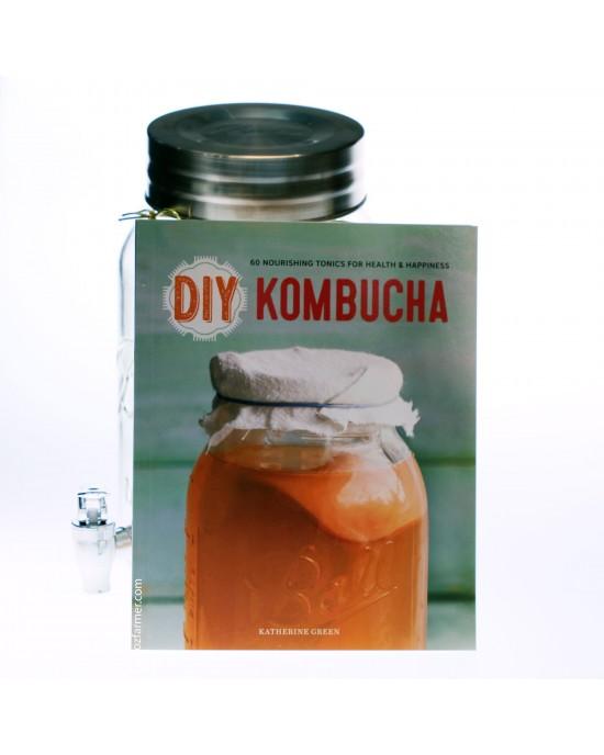 DIY Kombucha: 60 Nourishing Homemade Tonics for Health and Happiness (9781623154752)