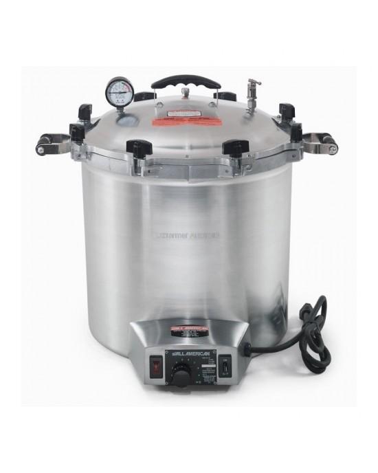 Electric Steriliser / Autoclave All American 25 Quart (24 Litre) 50X-240V (50X240)