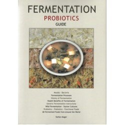 Fermentation Probiotics Guide - Stefan Mager Laminated Chart and Reference.