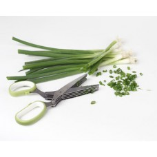 Fresh Herb Scissors 5 blades Stainless Steel
