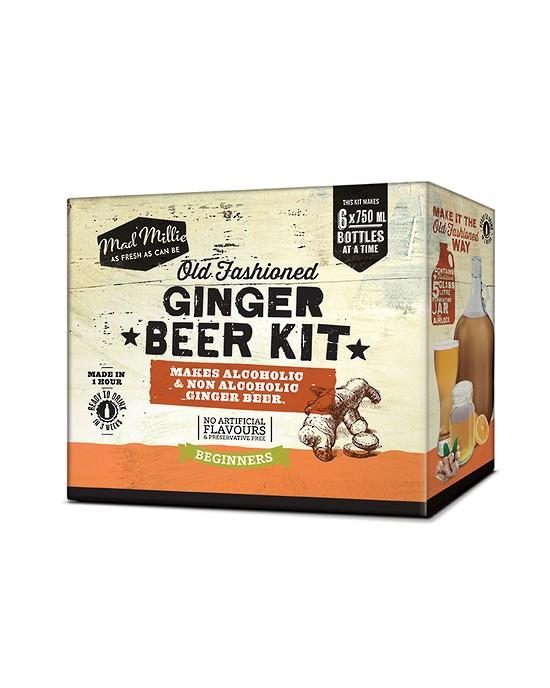 Homemade Old Fashioned Ginger Beer Kit - Fermented Ginger Beer (73551)
