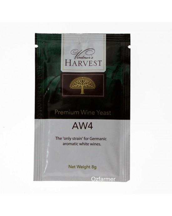 Homemade Wine Yeast  AW4 Germanic Aromatic White Wines  FREE POSTAGE (Australia Only) (45585)