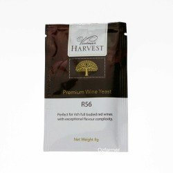 Homemade Wine Yeast  R56 Rich Full Bodied Red  FREE POSTAGE (Australia Only)